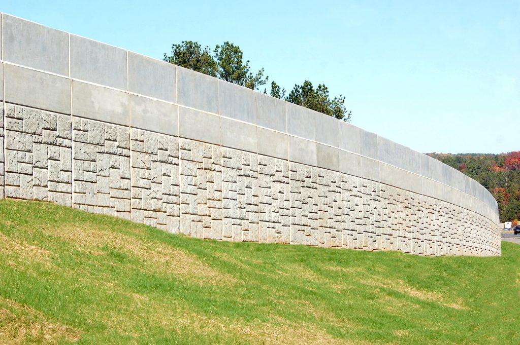 Piano Wall™ MSE Retaining Wall