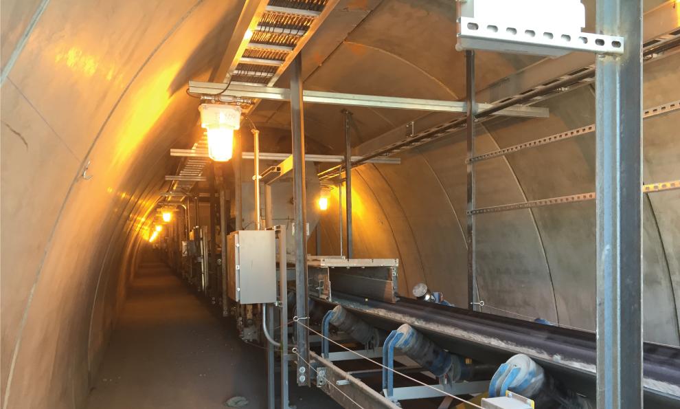 Underground TechSpan Precast Arches