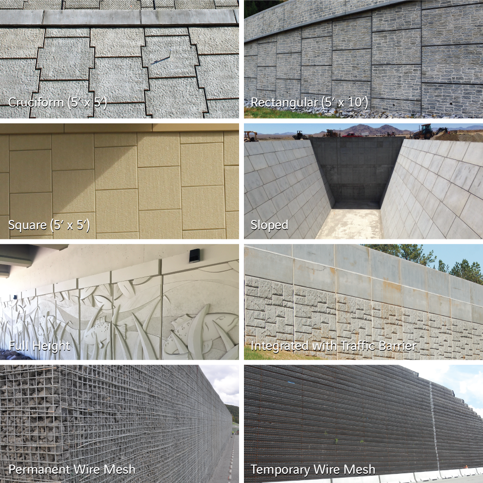 Mechanically Stabilized Earth (MSE) Retaining Walls
