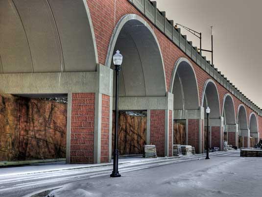 George Street Bridge - Precast Concrete Arch Bridge