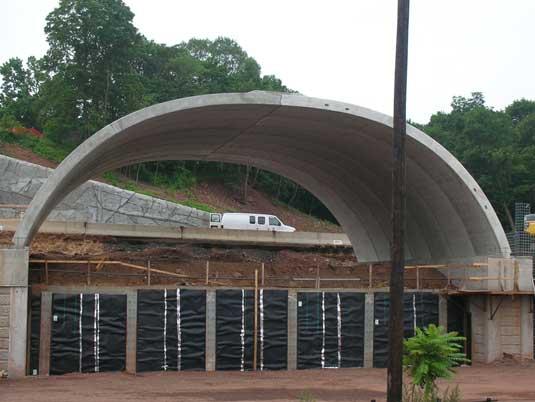 Construction of the George Street Bridge