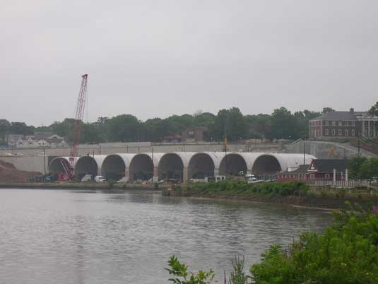 Zoomed Out View of the George Street Bridge