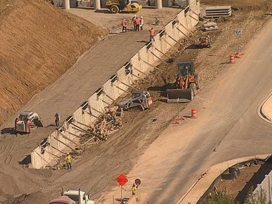 Construction Workers at North Tarrant Express