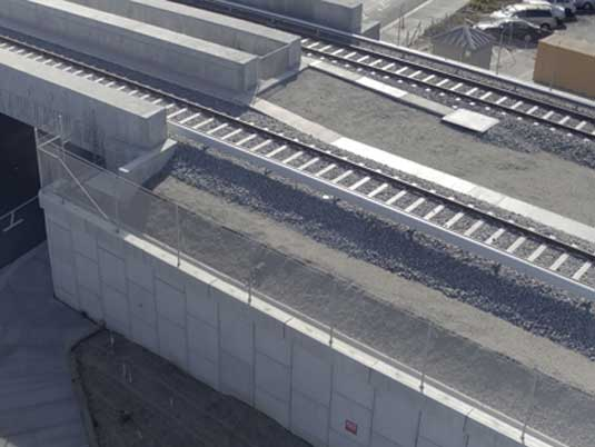Reinforcing Strips for Bay Area Rapid Transit Project