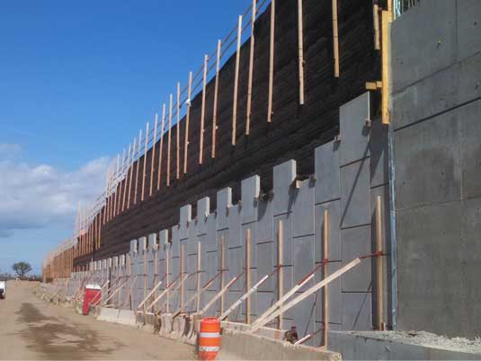 Construction of Replacement MSE Walls at Belt Parkway Over Mill Basin