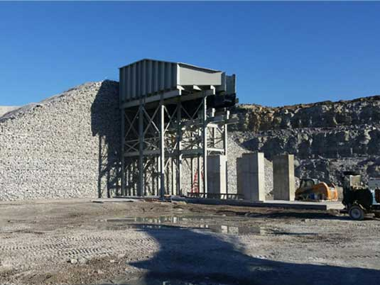 Permanent Wire Mesh MSE Wall at Atkin Quarry Headwall