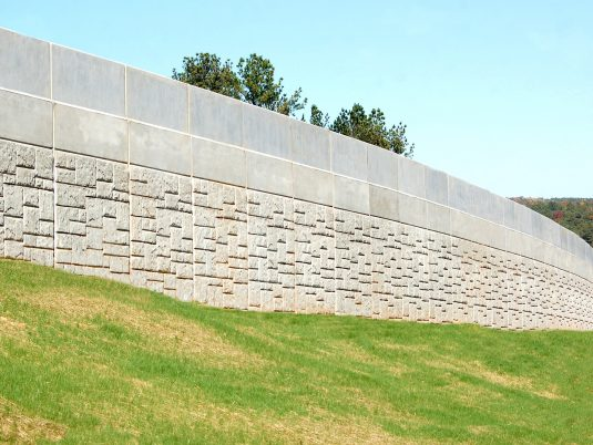 MSE Retaining Wall at Ridgewalk Parkway Over I-575