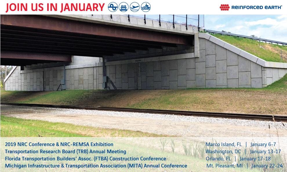 January  2019 Tradeshow List Graphic