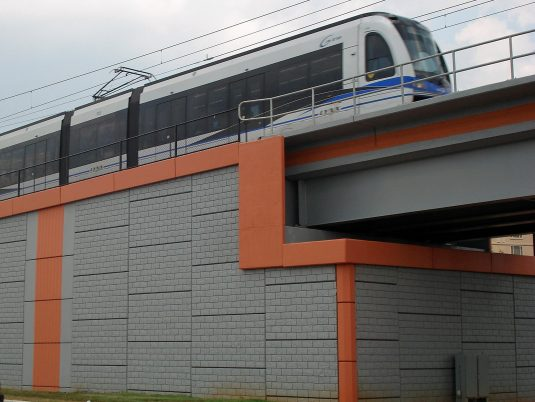 MSE Structure at the Lynx Blue Line in Charlotte, North Carolina