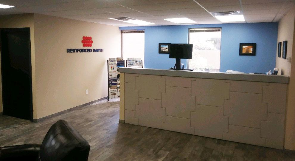 Interior of RECo Western Region Office in Denver, Colorado