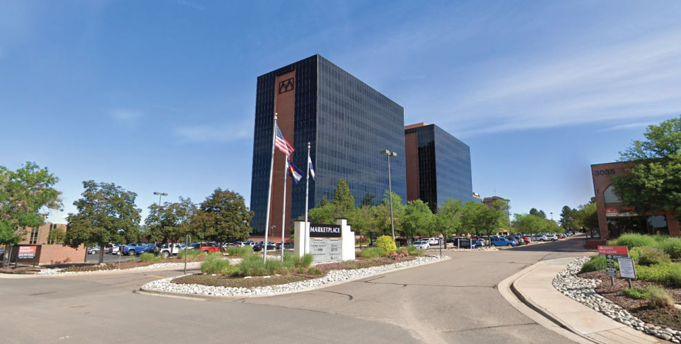 Exterior of RECo Western Region Office in Denver, Colorado