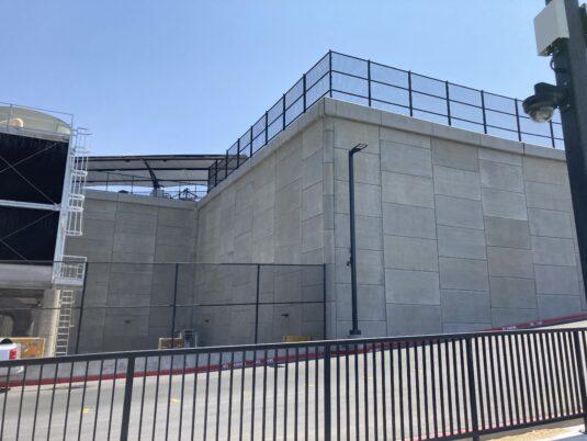 Allegiant Stadium - Newly Constructed Retainer Walls
