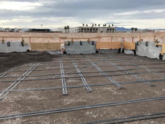 Allegiant Stadium - Under construction - Foundation Work