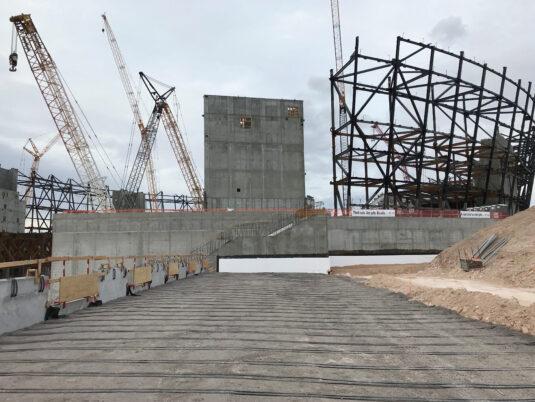 Allegiant Stadium - Under construction