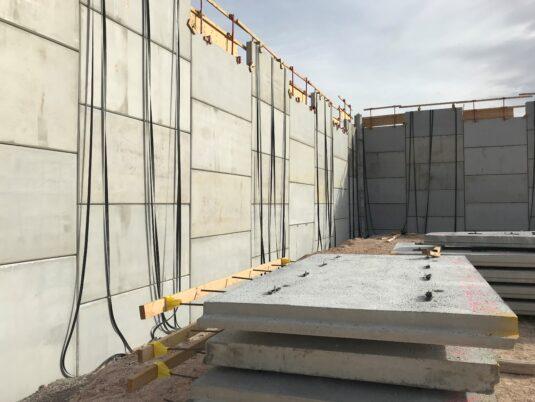 Allegiant Stadium - Under construction - Wall reinforcement